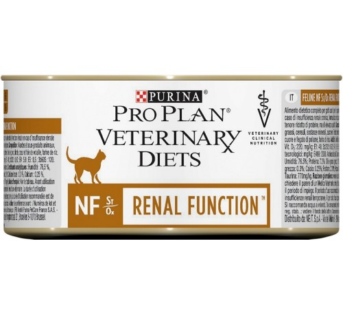 Purina Veterinary Gatto Diets NF Renal Failure Mousse da 195gr