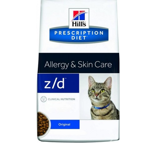 Hill's Prescription Diet Gatto secco z/d da 2 Kg