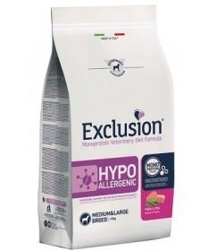 Exclusion Diet Hypoallergenic per Cane Medium e Large con Maiale e Piselli da 12 Kg