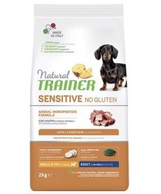 Trainer Natural Sensitive per Cani Adult Mini con Anatra da 2 Kg