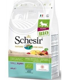 Schesir Bio Organic per Cani Puppy Small con Pollo da 600 gr