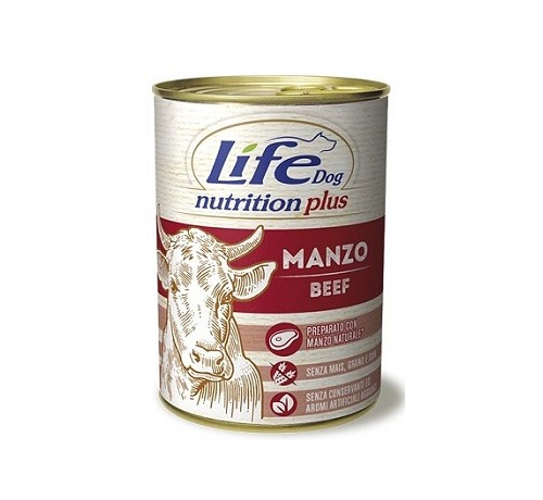 Life Dog umido Nutrition Plus da 400g
