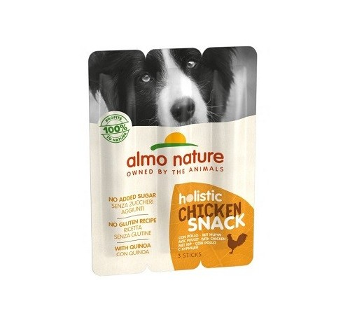 Almo Nature Holistic Snack per Cani Adulti da 3 sticks x 10 gr