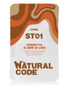 Natural Code ST per Gatto Steril da 70g