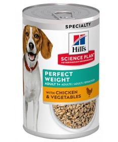 Hill's Science Plan Perfect Weight per Cane Adult da 363 gr