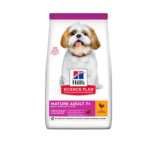 Hill's Science Plan Canine Small & Miniature Mature Adult 7+ da 1,5 Kg