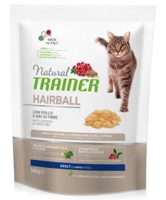 Trainer Natural HairballControl per Gatto Adult con Pollo