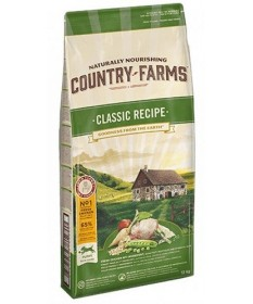 Country Farms Classic per Cane Puppy con Pollo da 12 Kg