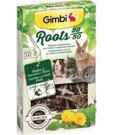 Gimborn Gimbi Roots per Roditori e Conigli Nani da 40 gr