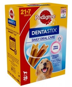 Pedigree Dentastix Daily Oral Care 21+7 per Cani Large (+25 kg)