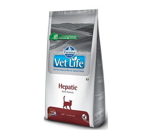 Farmina Vet Life Hepatic Feline 2 Kg