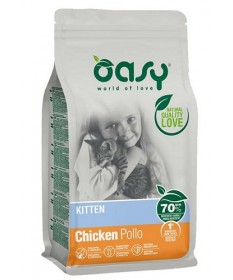 Oasy Kitten Gatto Secco Pollo
