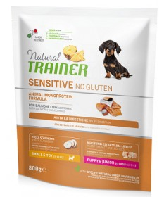 Trainer Natural Sensitive per Cani Adult Mini con Salmone da 800 gr