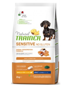 Trainer Natural Sensitive per Cani Puppy Small & Toy con Salmone da 2 Kg