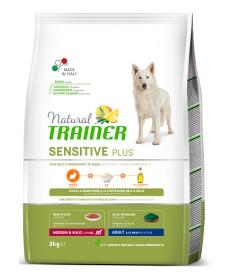 Trainer Natural Sensitive Plus per Cani Adult Medium/Maxi con Coniglio da 3 Kg