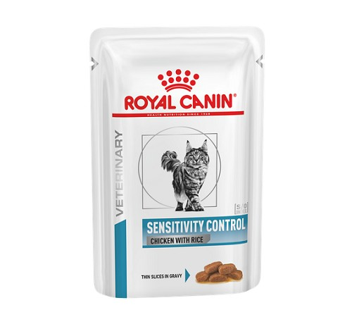 Royal canin veterinary diet sensitivity control per gatto da 100g