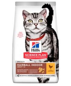 Hill's Science Plan Hairball Indoor per Gatto Adult con Pollo