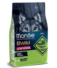 Monge Natural Superpremium Bwild per Cane Adult All Breeds con Cinghiale