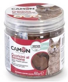 Camon Cuoricini al Salmone per Gatti da 60 mg