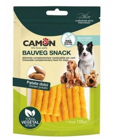 Camon Bauveg Snack 100% Vegetal con Patate Dolci da 100 gr