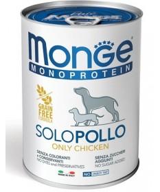 Monge Monoprotein Solo per Cani da 400 gr
