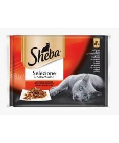 Sheba Selezione per Gatti da 4x85 gr