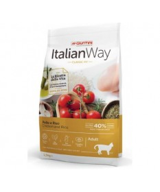 Italian Way Classic Fit per Gatti Adulti con Pollo e Riso