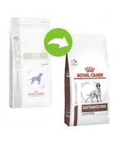 Royal Canin Gastrointestinal High Fiber per Cane