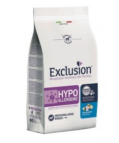 Exclusion Diet Hypoallergenic per Cane Medium e Large con Pesce e Patate da 12 Kg