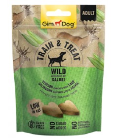 GimDog Train&Treat Snack per Cani da 125 gr