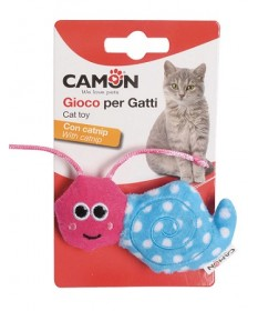 Camon Gioco per Gatti Chiocciola con Catnip