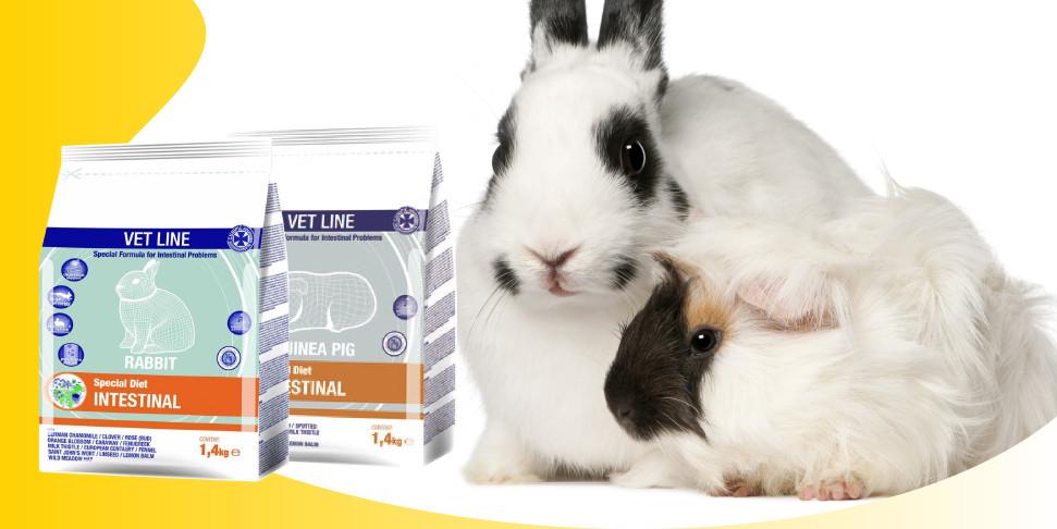 Cunipic Vet Line: alimenti dietetici per conigli e piccoli roditori
